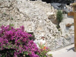 Nehemiah's Wall in Jerusalem