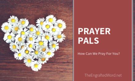 Prayer Pals — March 2019