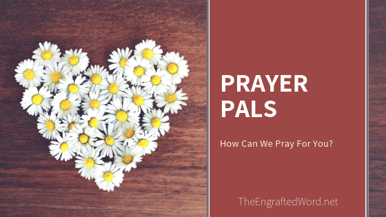 Prayer Pals — March 2019
