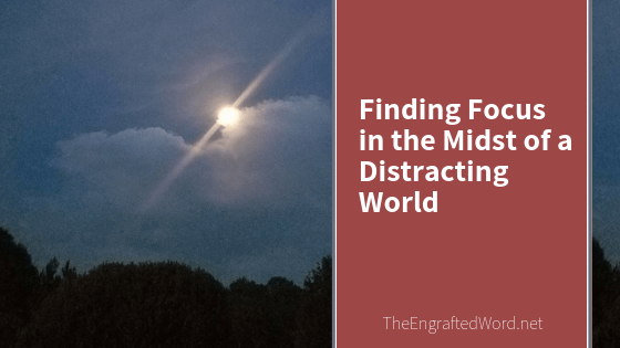 Finding Focus in the Midst of a Distracting World