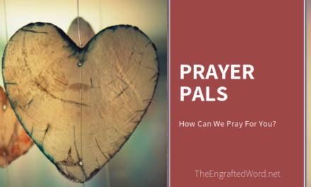 Prayer Pals — April 2019