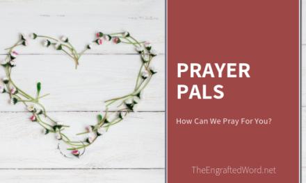 Prayer Pals — June 2019