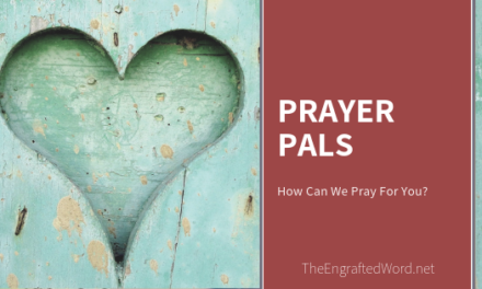 Prayer Pals April 2020