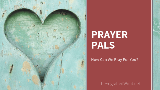 Prayer Pals March 2020