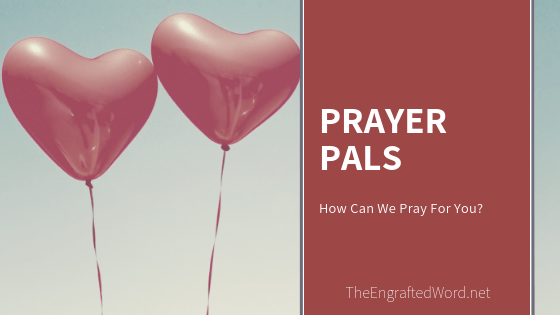 Prayer Pals – August 2019