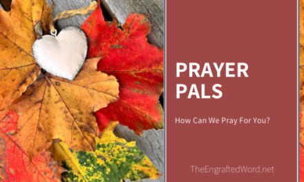 Prayer Pals — October 2019