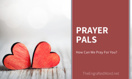Prayer Pals – January 2020