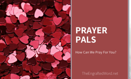 Prayer Pals – February 2020