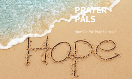 Prayer Pals April 2020