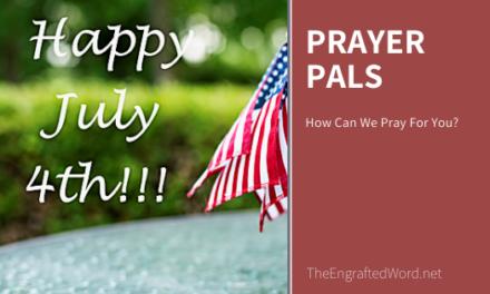 Prayer Pals July 2020