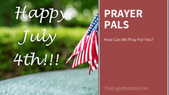 Prayer Pals July 2020